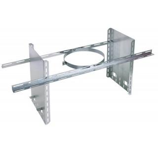 Collier de soutien réhaussé - Hauteur 40 cm Therminox TZ - CSR [- conduits isolés intérieurs - Poujoulat]
