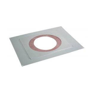 Plaque distance sécurité étanche (rampant) Therminox TZ - PDSER [- conduits isolés intérieurs - Poujoulat]