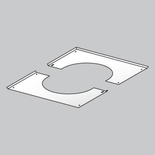 Plaque de propreté pour plaque PDSE (rampant) Therminox TZ - PPPDSER [- conduits isolés intérieurs - Poujoulat]