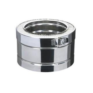 Elément droit 10 cm Therminox TI - ED 100 [- conduits isolés extérieurs - Poujoulat]