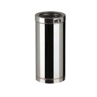 Elément droit 45 cm Therminox TI - ED 450 [- conduits isolés extérieurs - Poujoulat]
