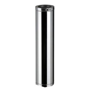 Elément droit 115 cm Therminox TI - ED 1200 [- conduits isolés extérieurs - Poujoulat]