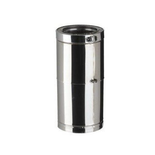 Elément droit 35 à 45 cm sans joint Therminox TIHT - ER35-45 [- conduits isolés extérieurs - Poujoulat]