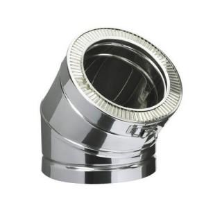 Coude 45° Therminox TI - EC45 [- conduits isolés extérieurs - Poujoulat]
