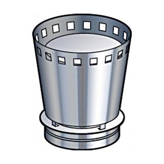Cone de finition VENITIEN Therminox TZ - CFV [- conduits isolés extérieurs - Poujoulat]