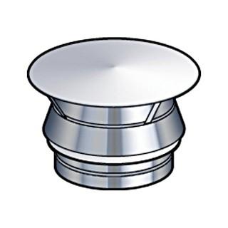 Chapeau Aspirateur GALACTIC Therminox TZ - CAG [- conduits isolés extérieurs - Poujoulat]