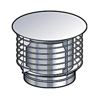 Chapeau Aspirateur SPIRAL Therminox TZ - CASP [- conduits isolés extérieurs - Poujoulat]