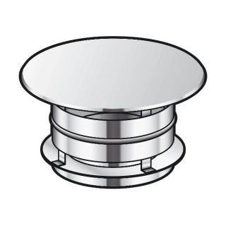 Chapeau aspirateur simple Therminox TZ - CAI [- conduits isolés extérieurs - Poujoulat]