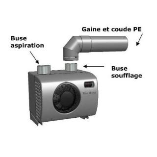 Kit d'installation pour climatiseur Wine IN25 [- Climatisation de caves à vin - WineMaster Fondis]