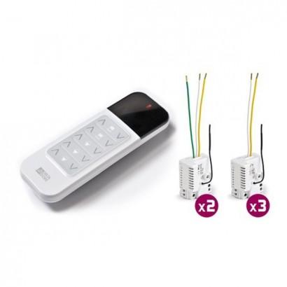 Pack TYXIA 520 [- Pack Micromodules Eclairage et Volets Roulants - Centralisation des commandes - 3 voies - Delta Dore]