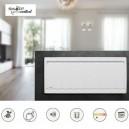CALIDOU Bas - Blanc - Smart ECOcontrol [- Radiateur Inertie Fonte - Noirot]