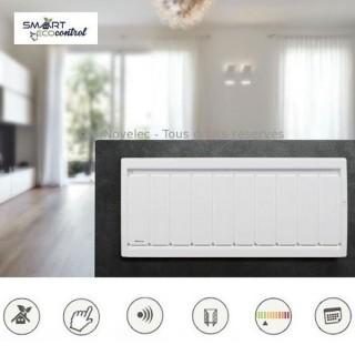 SOLEIDOU Bas - Blanc - Smart ECOcontrol [- Radiateur Inertie Fonte - Applimo]