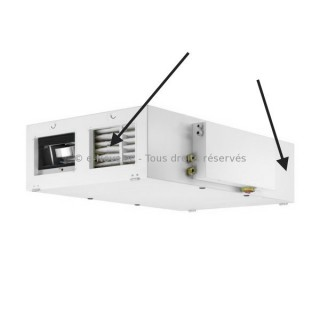 Filtre F5 ou F7 pour VMC KWL 2000 D PRO ou PRO WW [- Filtration VMC Double flux - Helios]