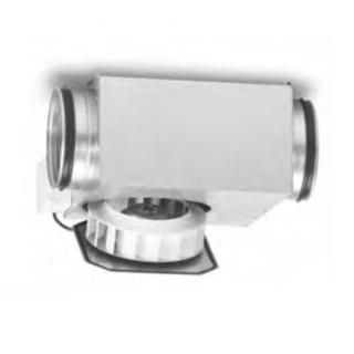 SlimVent SVR Ø 100, 125, 160 et 200 mm [- Ventilateurs centrifuges pour gaines - HELIOS]