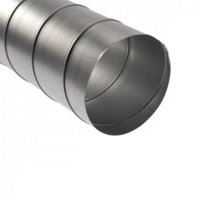 Gaine spiralée galvanisée - Longueur 3 m - Ø 80 à 1000 mm [- conduits rigides VMC - Aldès]