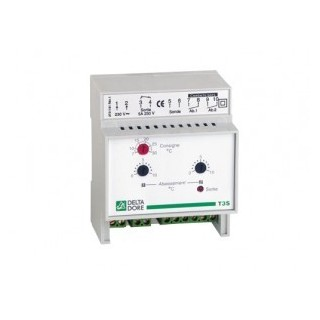 T3S [- Thermostat modulaire Tout ou Rien à 3 seuils - Tertiaire ou Industrie - Delta Dore]