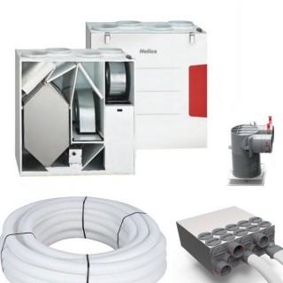 Kit d'installation KWL EC 500 W [- KWL EC 500 W T5+ - VMC Double flux Très Haut Rendement - Helios]