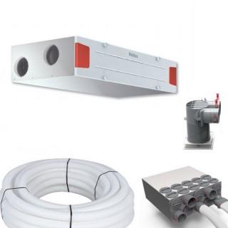 Kit d'installation KWL EC 340 D - Gamme passive [- KWL EC 340 D T3/5 - VMC Double flux Très Haut Rendement - Helios]