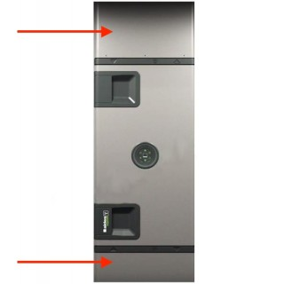 Cache gaine pour InspirAIR Home SC370 [- accessoire VMC - InspirAIR Home - ALDES]
