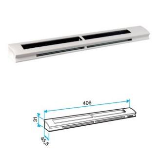Entrée d'air hygroréglable EHB 2 pour fente simple ou double [- accessoires VMC - Aldes]