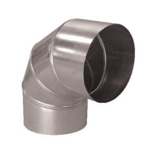 Coude 90° Aluminium - Ø 125 à 500 mm [- Conduits Aluminium VMC - Aldes]
