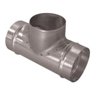 Té Equerre Aluminium - Ø 125 à 500 mm [- TE 90° Alu - Conduits Aluminium Ventilation - Aldes]