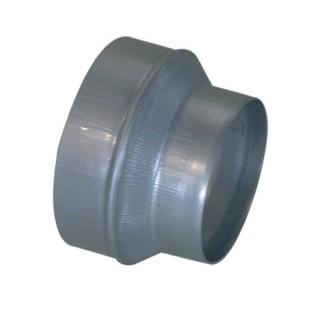 Réduction conique concentrique - RCC [- accessoires galvanisés VMC - Unelvent, Atlantic et Aldès]
