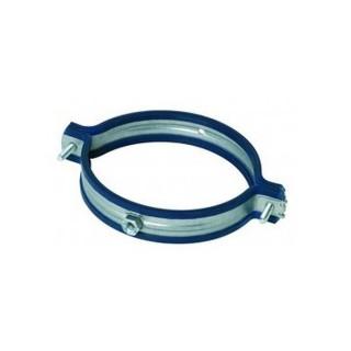Collier support de conduit galva anti-vibratile - Ø 80 à 800 mm [- SGI - accessoires galvanisés VMC - Atlantic]