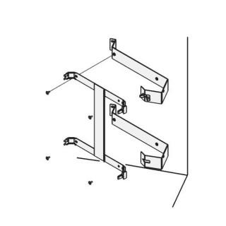 Kit d'angle pour Campaver Etroit Vertical et Naturay Etroit Vertical 1600 W [- Campa]