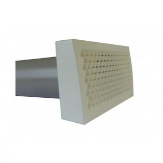 Bouche d'extraction longue portée - LongFlow [pour conduits comfotube DN 90 ou Flat 51 - Zehnder]