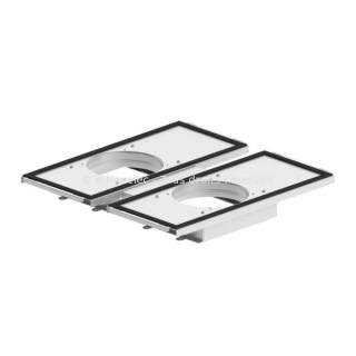 Kit de montage pour 2 comfowell 320, 420 ou 520 sur ComfoAir Q 350 [- Commande VMC double flux Haut rendement - ZEHNDER]