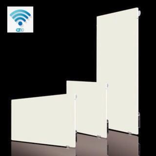 VALDEROMA Radiateur Wifi - BLANC CACHEMIRE [- Radiateur Inertie Minéral]
