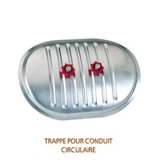 Trappe de visite pour conduit circulaire Ø 125 à 500 mm - TV [- accessoires galvanisés VMC - Atlantic]