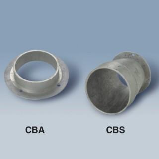 Bride de raccordement pour ventilateur centrifuge [- CBA - CBS - Ventilation industrielle - Unelvent]