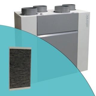 Filtre anti-odeur charbon actif pour VMC Optimocosy HR [- accessoire VMC double flux - Atlantic]