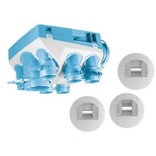Kit OZEO ST 2 - avec bouches à piles [- Pack VMC Simple flux Hygro A/B - Unelvent]