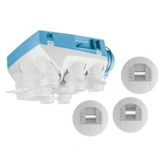Kit OZEO ECOWATT 2 - très basse consommation - avec bouches à piles [- Pack VMC Simple flux Hygro A/B - Unelvent]