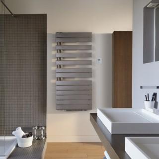 FASSANE SPA + AIR Asymétrique à gauche (mât à gauche) [- FL-IFS - sèche-serviettes eau chaude + Soufflant - ACOVA]