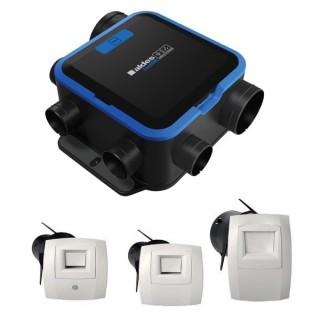 Kit EasyHOME Hygro Compact Premium MW [- Pack VMC Hygro B Très basse consommation + bouches - Aldès]