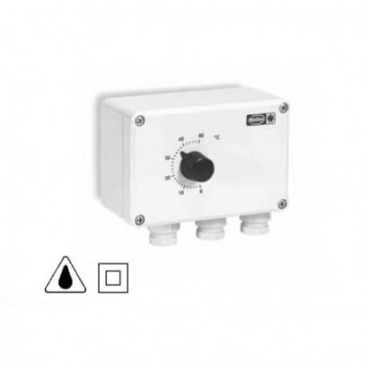TME 4 - Thermostat à 4 étages commutés [- Commande Ventilateurs - HELIOS]