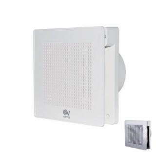 EVO - 100 mm - blanc ou chromé [- Extracteur d'air intermittent - Ventilation mécanique ponctuelle - Vortice]
