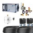 Kit puits canadien à eau glycolée pour VMC 450 m3/h - Kit SEWT 44 [- Puits canadien à eau glycolée - Helios]