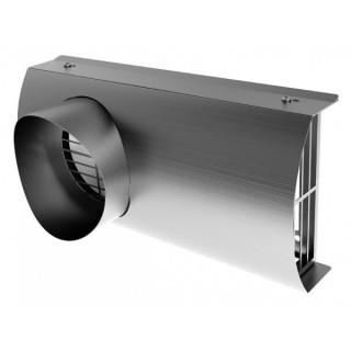 Grille de façade mixte Ø 125, 160 et 180 mm (IP-FKB) Raccordement conduits PE isolés [- Conduits VMC - Réseau RenoPipe - Helios]