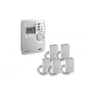 Pack DRIVER 220 CPL FP [- Programmateur CPL sur 2 zones de chauffage électrique Fil Pilote - Delta Dore]
