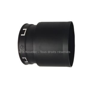 Raccord droit Easyclip Ø 90 mm Optiflex [- Accessoire VMC simple flux - ALDES]