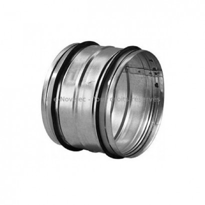 Manchon à joints Mâle-Mâle Ø 125, 150, 160 et 180 mm - ComfoPipe et Novus [- Conduits VMC en Polypropylène - Zehnder]