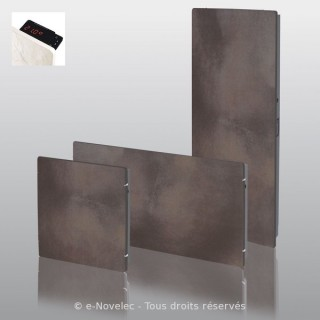 VALDEROMA Radiateur Touch Silicium - TERRE LUNAIRE [- Radiateur Inertie Minéral]