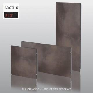 VALDEROMA Tactilo - TERRE LUNAIRE [- Radiateur Inertie Minéral]