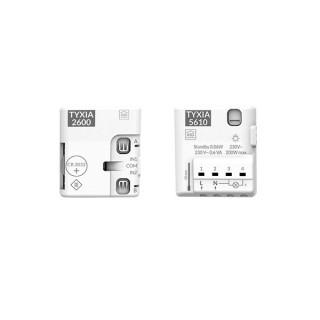 Pack TYXIA 501 [- Pack éclairage marche/arrêt avec 2 interrupteurs sans fil - Delta Dore]
