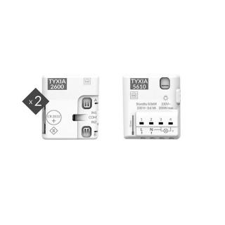 Pack TYXIA 511 [- Pack d'ajout d'interrupteur pour éclairage connecté - Delta Dore]